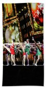 Radio City Rockettes New York City Beach Towel