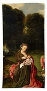 Rest On The Flight Into Egypt Beach Towel
