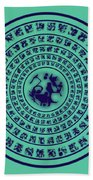 Runes Beach Towel