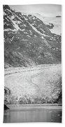 Sawyer Glacier In Tracy Arm Alaska Fjords Near Ketchikan Alaska Beach Towel