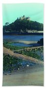 St Michaels Mount Beach Towel