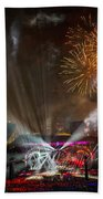 The Grateful Dead At Soldier Field Fare Thee Well Tour Beach Towel