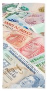 Travel Money - World Economy Beach Towel