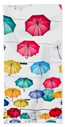 Umbrellas Beach Towel