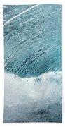 Underwater Wave Beach Towel