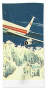 707 In The Air Beach Towel