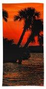 75 Island Sunset Beach Towel