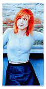 79361 Hayley Williams Paramore Women Singer Redhead Beach Towel