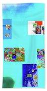 8-10-2015abcdefghi Beach Towel