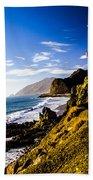 Ca Beach Beach Towel