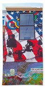 Freak Alley Boise Beach Towel