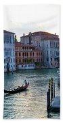 Gondola, Canals Of Venice, Italy Beach Towel