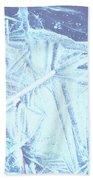 8. Ice Patterns, Whitfield Beach Towel