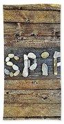 Inspiring Rock Art Beach Towel