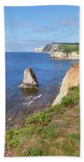 Isle Of Wight - England Beach Towel