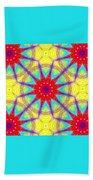 Kaleidoscope 4 Beach Towel
