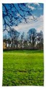 Landscape Graphics Beach Towel