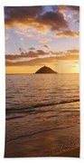 Lanikai Sunrise Beach Towel