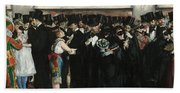 Masked Ball At The Opera Beach Towel