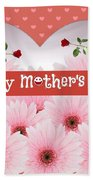Mother's Day Beach Towel