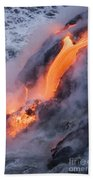 Pahoehoe Lava Flow Beach Towel