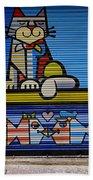 Street Art In Palma Majorca Spain Beach Towel