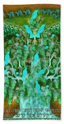 Sukkot- Prayer In The Sukkah Beach Towel