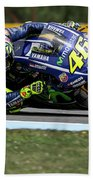Valentino Rossi The Doctor  Beach Towel