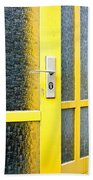 Yellow Door Beach Towel