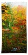Nature Landscape Lighting Beach Towel