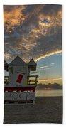 8003- Miami Beach Sunrise Beach Towel