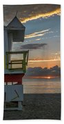 8041- Miami Beach Sunrise Beach Towel