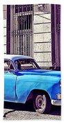 Havana, Cuba Beach Towel