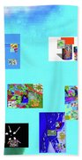 9-6-2015habcde Beach Towel