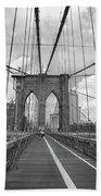 Brooklyn Bridge - New York City Beach Towel