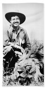 Ernest Hemingway Beach Towel