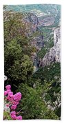 Grand Canyon Du Verdon Beach Towel