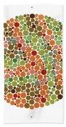 Ishihara Color Blindness Test Beach Towel