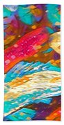 Koi Fish Beach Towel