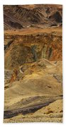 Moonland Ladakh Jammu And Kashmir India Beach Towel