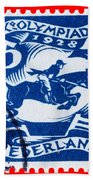 Old Dutch Postage Stamp Beach Towel