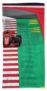 Sebastian Vettel Ferrari  Beach Towel