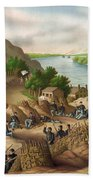 Siege Of Vicksburg, 1863 Beach Towel