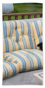 #940 D1082 Farmer Browns Separate But Always Together Beach Towel
