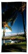 9th Hole Mona Kea Beach Towel
