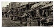 9th Street Italian Market - Philadelphia Pennsylvania Beach Sheet