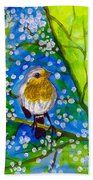 A Bird Beach Towel