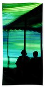 A Boat Ride Through Time Beach Towel