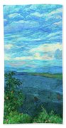 A Break In The Clouds Beach Towel