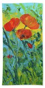 A Breath Of Spring Beach Towel